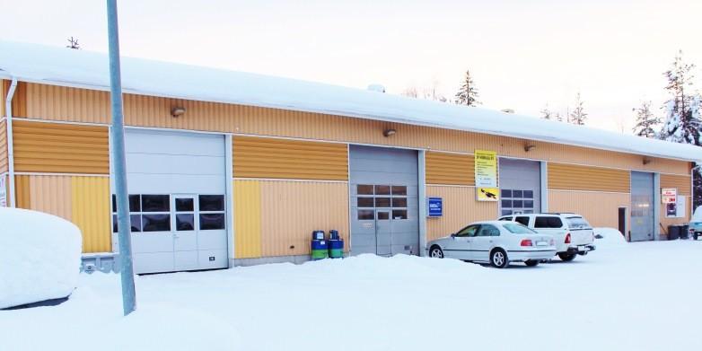 Myydään vastaanottohalli Teollisuustie 13 | Myytävät kaupungin toimi- ja yritystilat ...